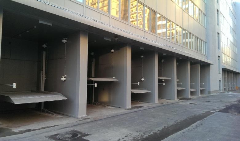 Механизированная парковка зависимого типа на 24 машино-места, г. Санкт-Петербург, Московский пр., 94
