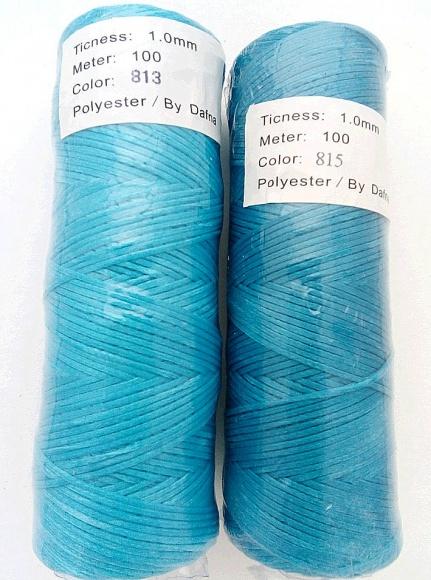 Цвета нитки плетеные вощеные