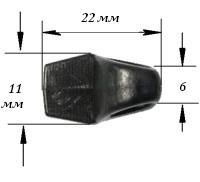 Петля вшивная арт. 2860
