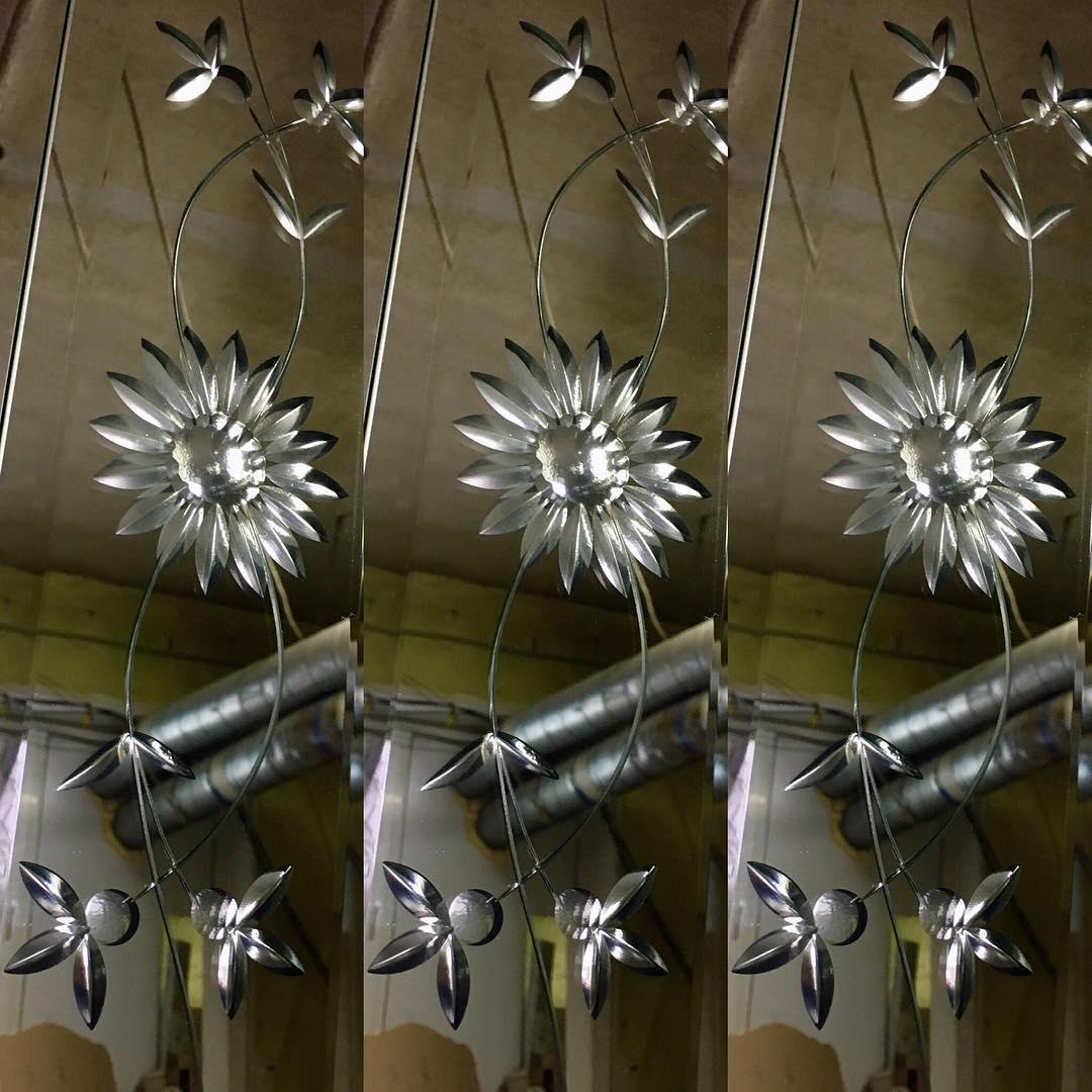 Обработка зеркал алмазной гравировкой
