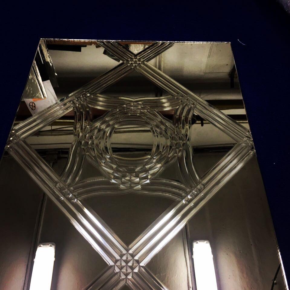 Художетсвенная обработка зеркал