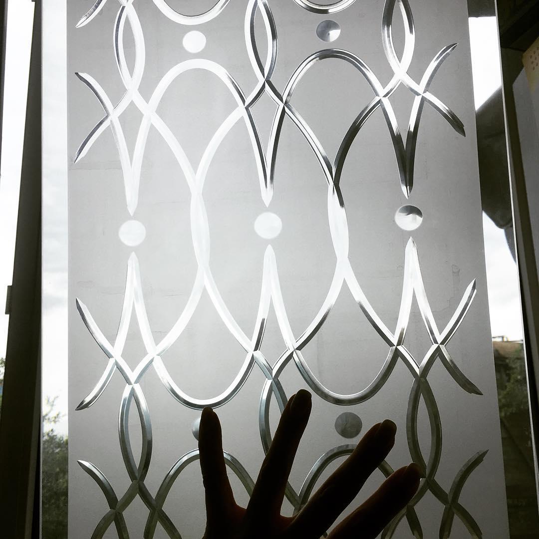 Обработка стекла алмазной гранью