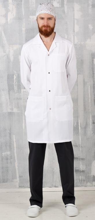 Медицинский халат мужской, арт. МЛекарь