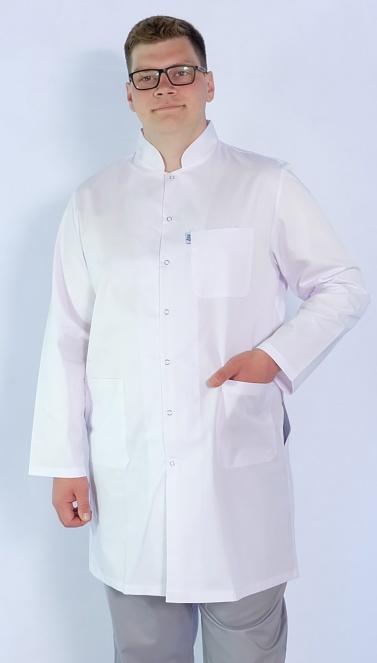 Мужской медицинский халат Арт. МС2 (ткань: багар)