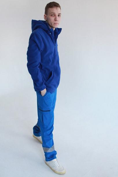 Флисовая куртка-толстовка Скорая помощь (флис 190 г/мкв)