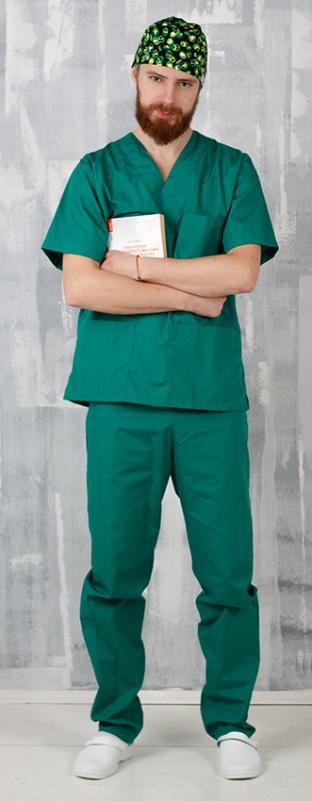 Хирургический костюм мужской (унисекс)