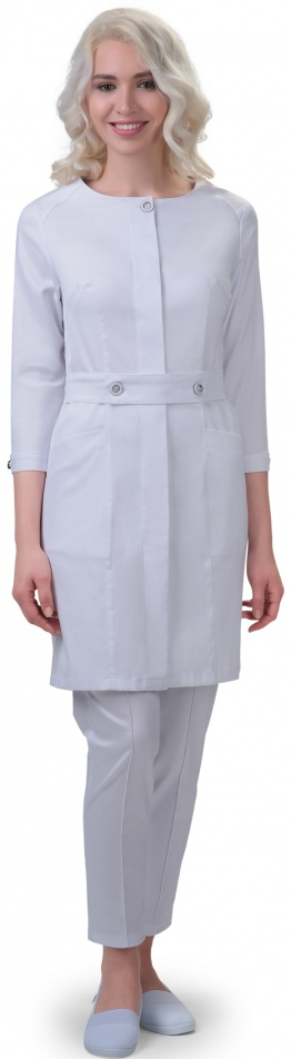 Медицинский женский халат арт. 2–01