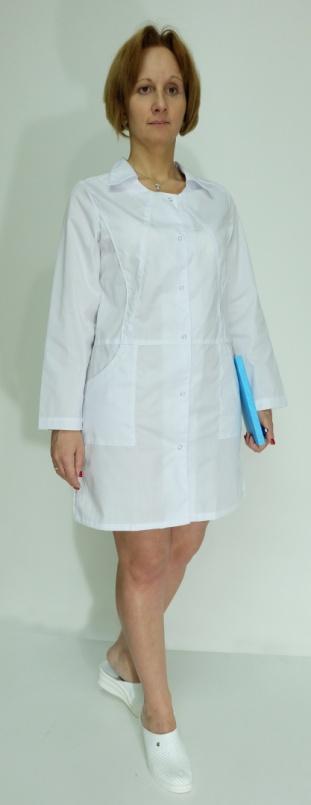 Медицинский халат женский арт. Лиза