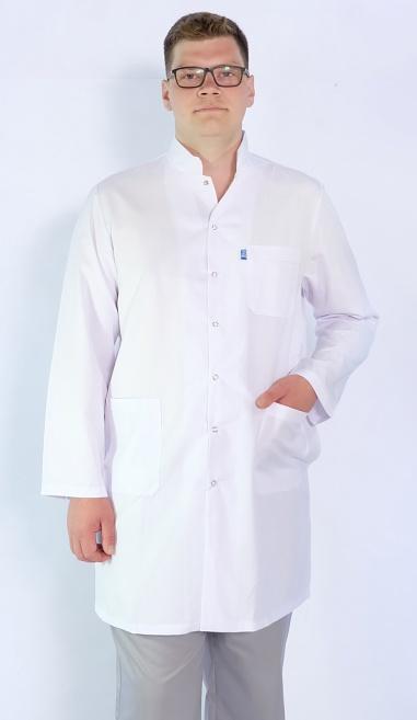 Мужской медицинский халат Арт. МС2 (ткань: кул-котон)