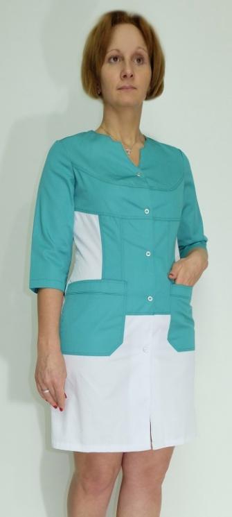 Медицинский женский халат арт. Стиль