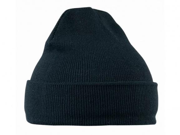 Шапка вязанная (темно-синяя)