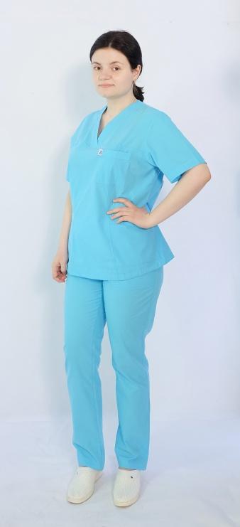 Костюм женский хирургический Арс-Файн (бирюзовый)