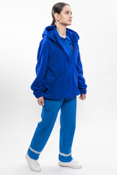 Флисовая куртка-толстовка Скорая помощь (флис 320 г/мкв)