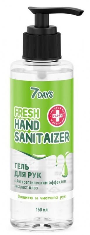 Гель для рук 7 DAYS™ сантисептическим эффектом 150 мл