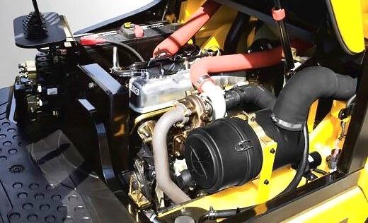 ремонт дизельного двигателя погрузчика